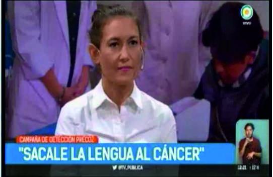 Sacale la lengua al cáncer – TV